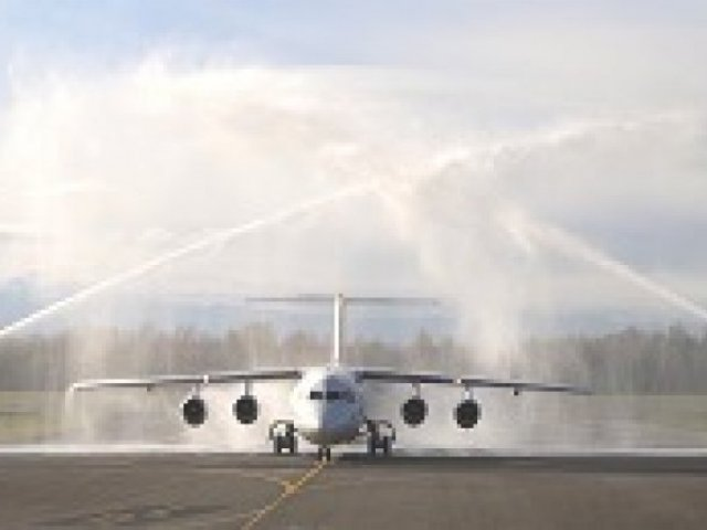 Hop! inaugurates its first flight Pau-Strasbourg